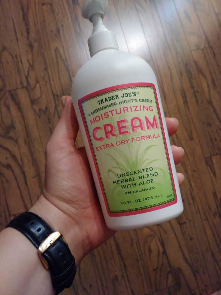 Trader Joe's Midsummer Night's Cream Moisturizing Cream Extra Dry Formula