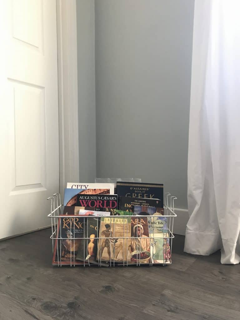 Vintage Freezer Baskets Re-purposed for Storage/Life Full and Frugal