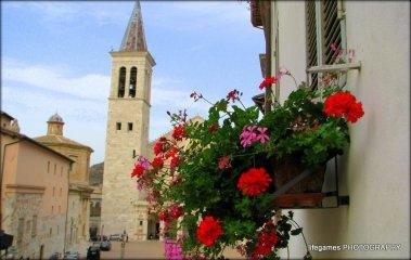ITALY-Spoleto-town-view