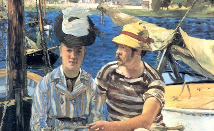 Эдуард Мане Аржентей 1874 , художник Мане, картина Эдуарда Мане