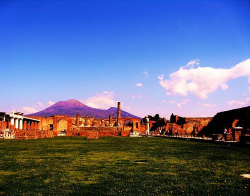 Помпеи, руины, раскопки