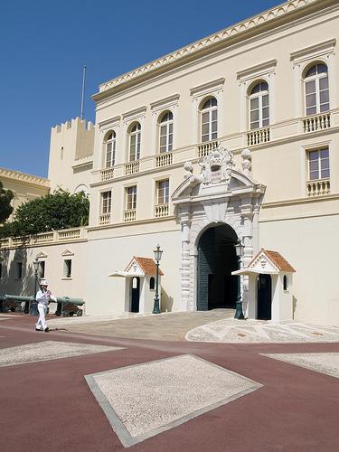 Дворец Монако, Гримальди