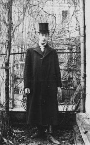 Гумилев Николай. Париж, 1906 г.