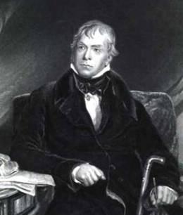 Вальтер Скотт, писатель, сравнение с Александром Дюма