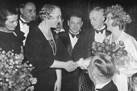 Иван Бунин на вручении Нобелевской премии по литературе в 1933 году