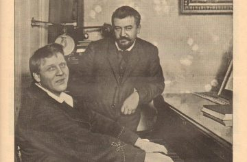Два друга - Александр Куприн и Федор Шаляпин