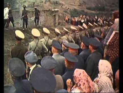"""Расстрел коммунистов. Кадр из фильма """"Тихий Дон"""" (1957 года)"""