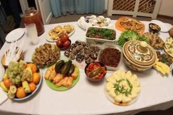 Рождествеский стол, 12 блюд, рецепты кутьи, Рождество