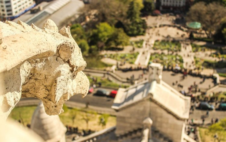 Сакре-Кер, Париж, Монмартр, достопримечательности Парижа