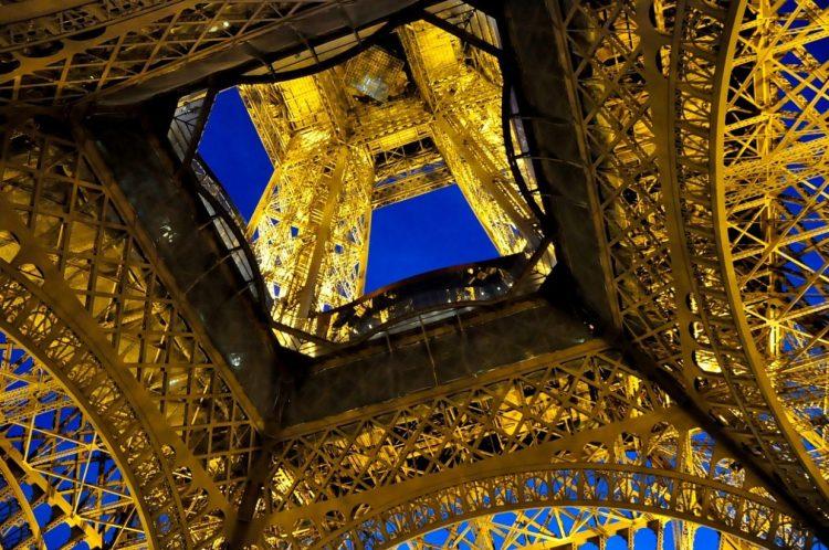 эйфелева башня, Париж, Франция, достопримечательности Парижа