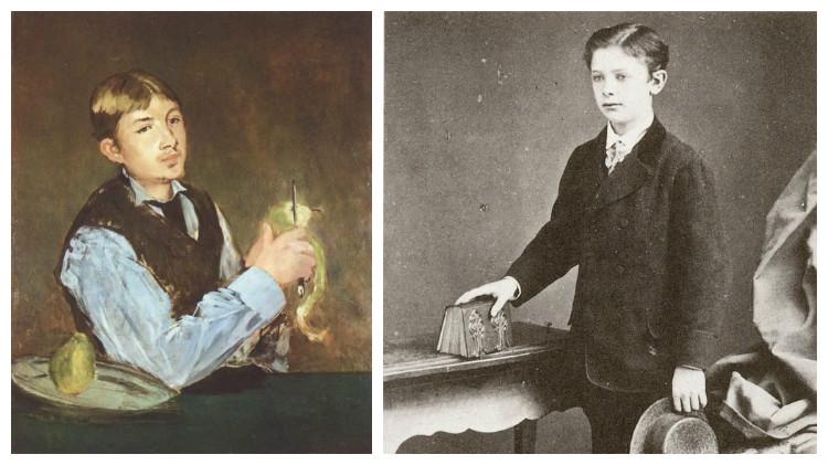 Сын художника Эдуарда Мане