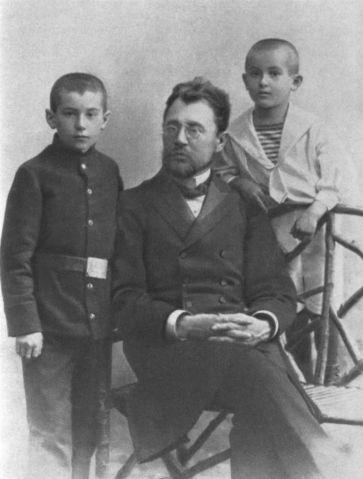 Семья Валентина Катаева