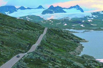 автопутешествие, Норвегия, пейзажная дорога