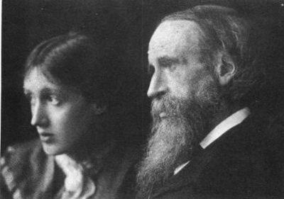 Вирджиния Вулф с отцом