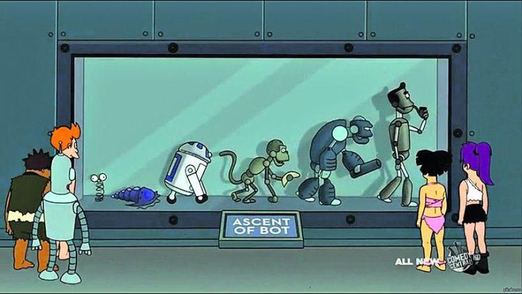 роботы наступают, эволюция роботов, восстание роботов