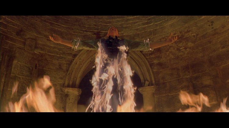 слуга сатаны, кадр из фильма Девятые врата