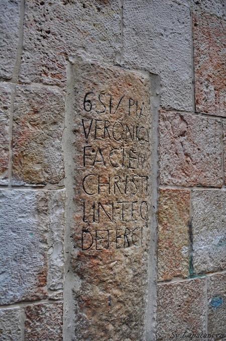 колонна, дом святой вероники
