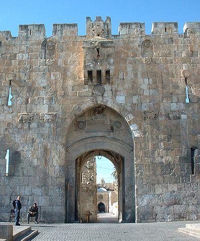 Львиные ворота, Иерусалим, Иисус Христос