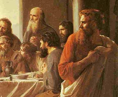 Иуда уходит с Тайной вечери