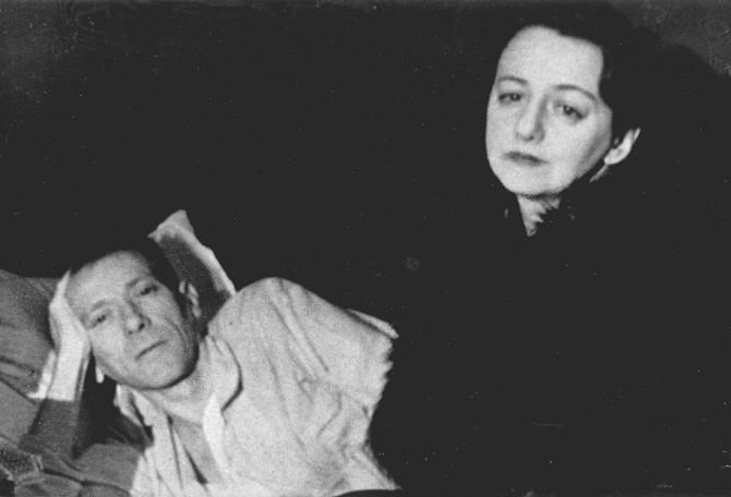 Булгаков с Еленой Сергеевной