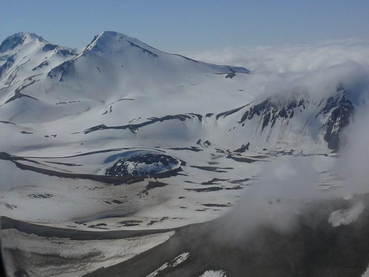 Новарупта, Извержения вулканов