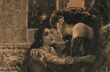 Врубель Тамара и Демон