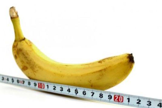 банан, линейка