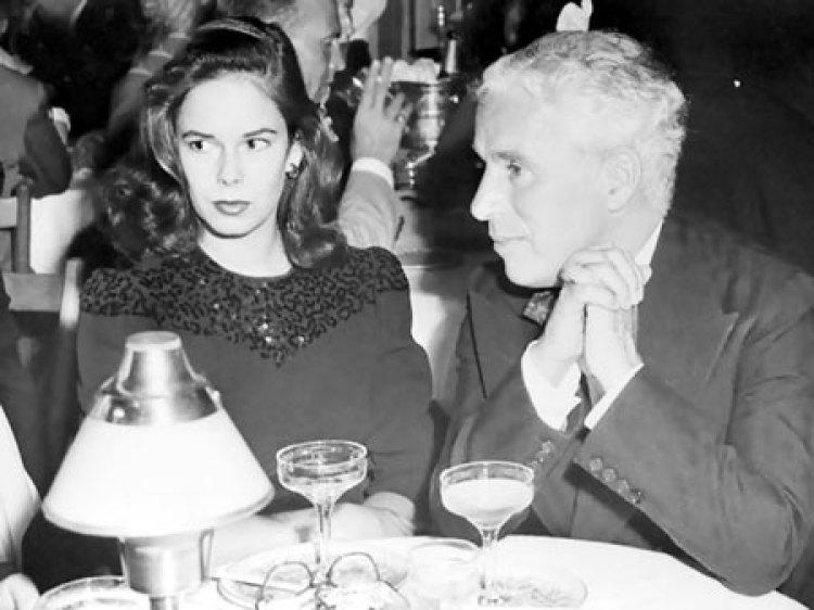 Чаплин и Уна О'Нил