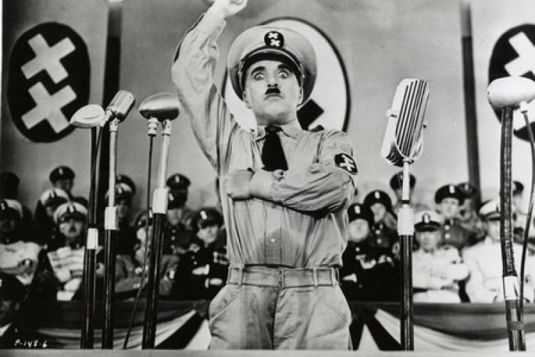 Чаплин в роли Гитлера
