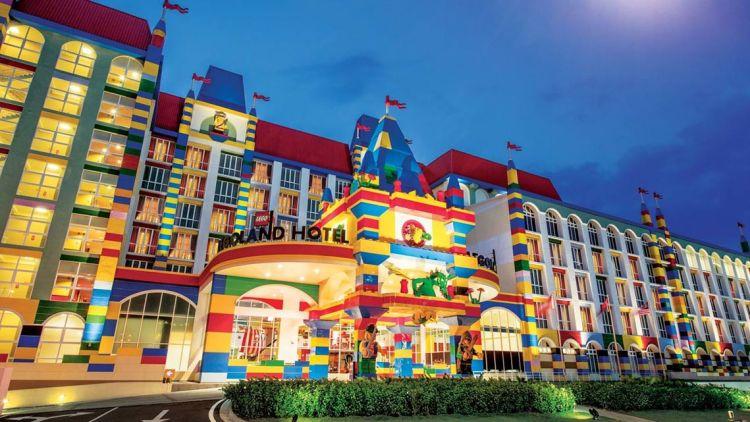 лего-отель, необычные отели, необычные отели мира, Dubai Parks and Resorts