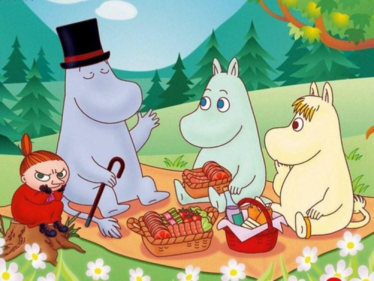 Муми-тролли на пикнике, сказка, Туве Янссон
