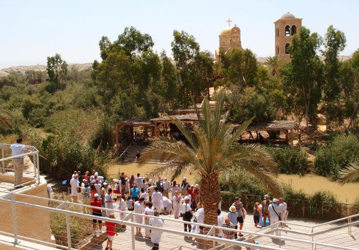 Израиль, Купальня в Каср эль Яхуд, место крещения Иисуса