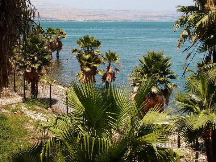 Израиль, озеро Киренет, Подворье Марии Магдалины