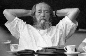 писатель Солженицын