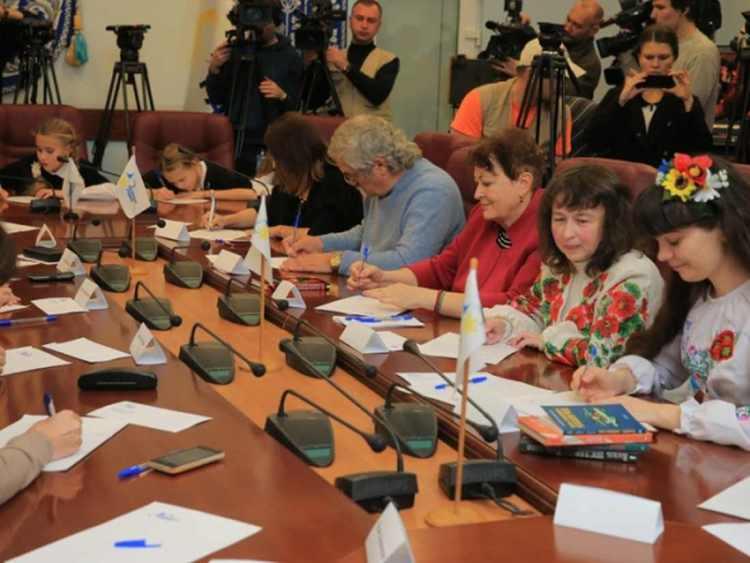 день украинской письменности, день языка, украина, радио, диктант