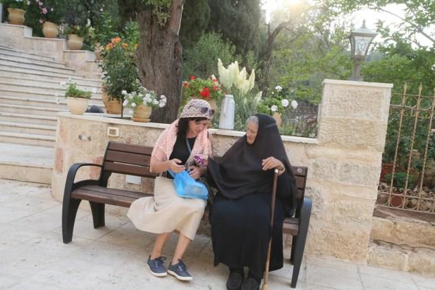 Горненский монастырь, проект Паломники, святая земля, израиль, схимница, монахиня