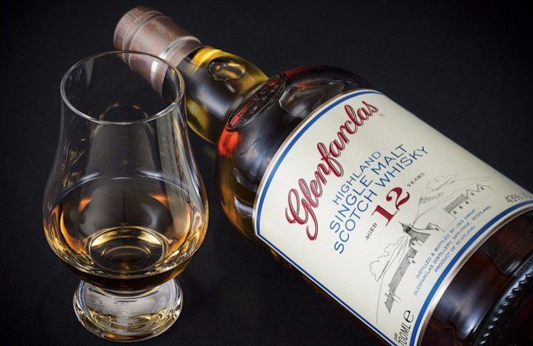 Glenfarclas, виски, бокал