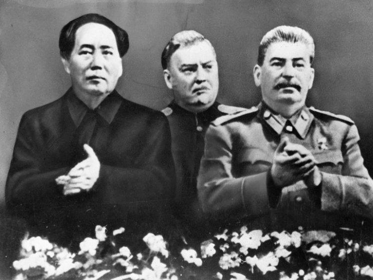 фишки дня, Мао Цзедун, Сталин, Николай Булганин