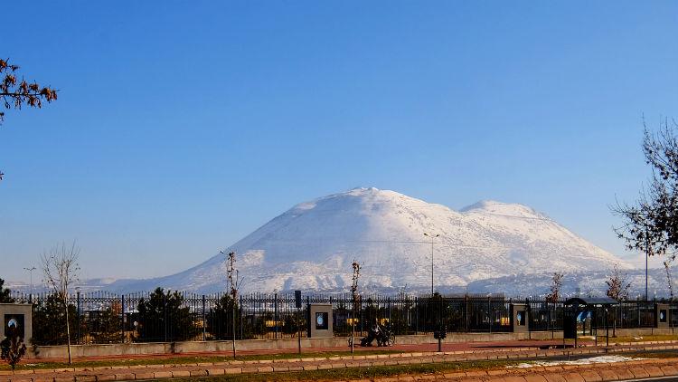 окрестности Кайсери, гора Али