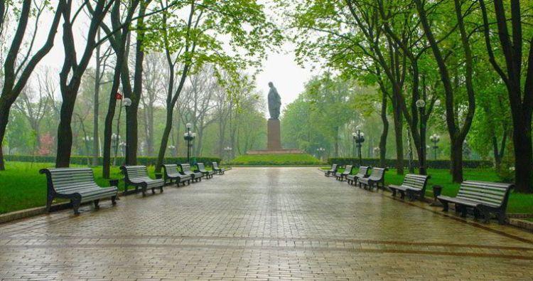 Тринадцатый Ангел, парк Шевченко, Киев, в парке Шевченко
