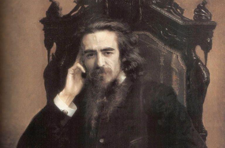 Владимир Соловьев, портрет