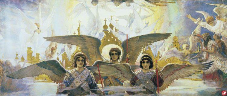 Тринадцатый Ангел, Христианское фэнтези, Во Владимирском соборе