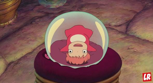 рыбка Поньо, мультфильм, япония
