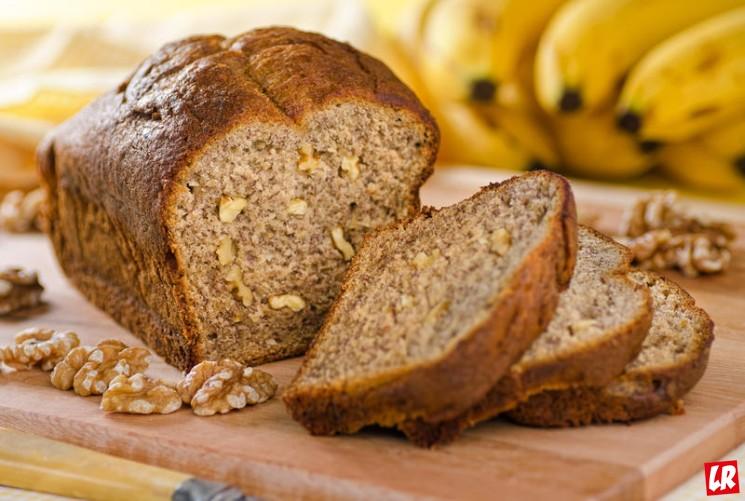 фишки дня - 23 февраля, банановый хлеб, национальный день бананового хлеба США