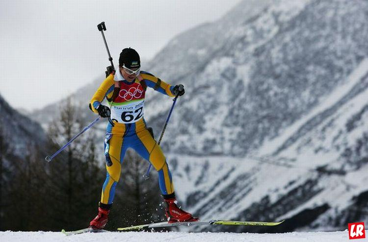Олимпийские игры, Лилия Ефремова, Олимпиада в Турине, биатлон