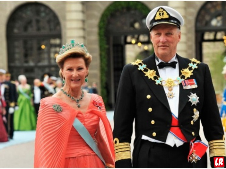 фишки дня, король Норвегии Харальд V