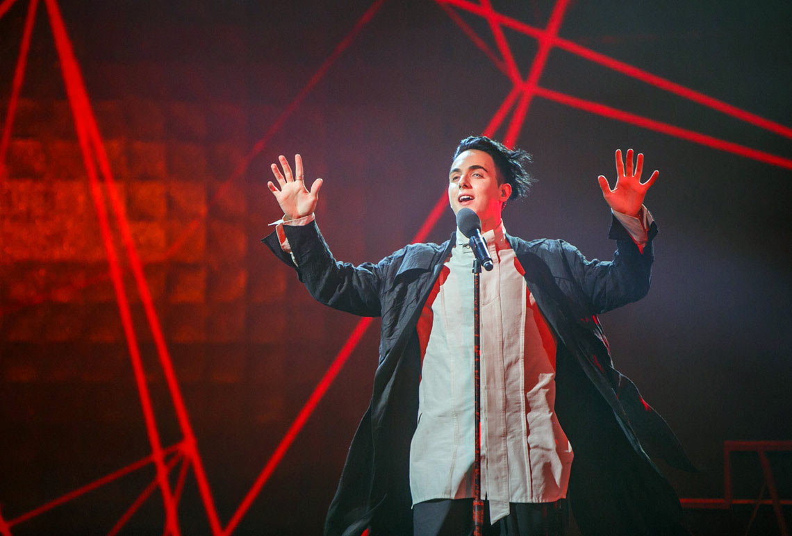 Eurovision 2018 Евровидение нацотбор финал MELOVIN