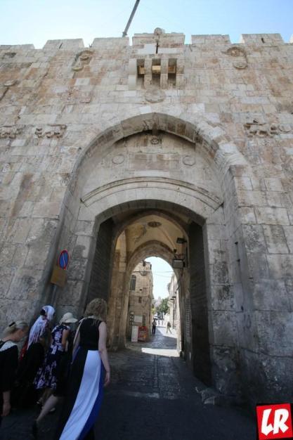 """Иерусалим, стены Иерусалима, спецпроект """"Паломники. Святая Земля"""", Львиные ворота"""