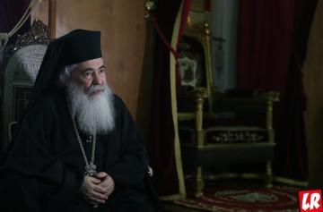 Патриарх Иерусалимский, патриарх Феофил, Благодатный огонь