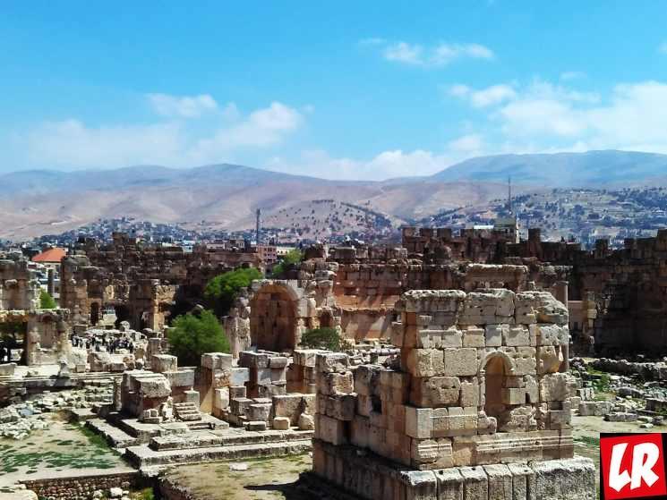 Баальбек, Сирия, сирийская граница